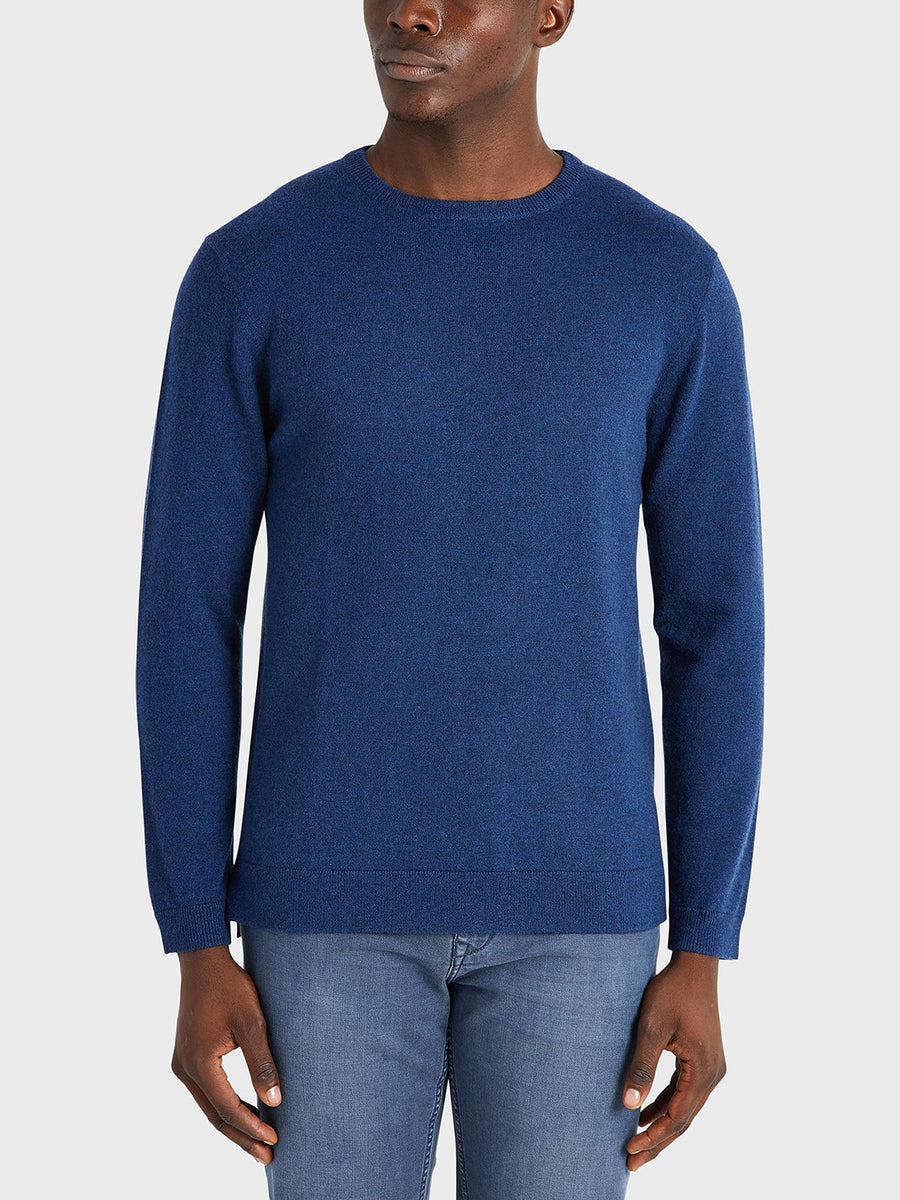 AW20 LS Sweater Ivy Cobalt Blue