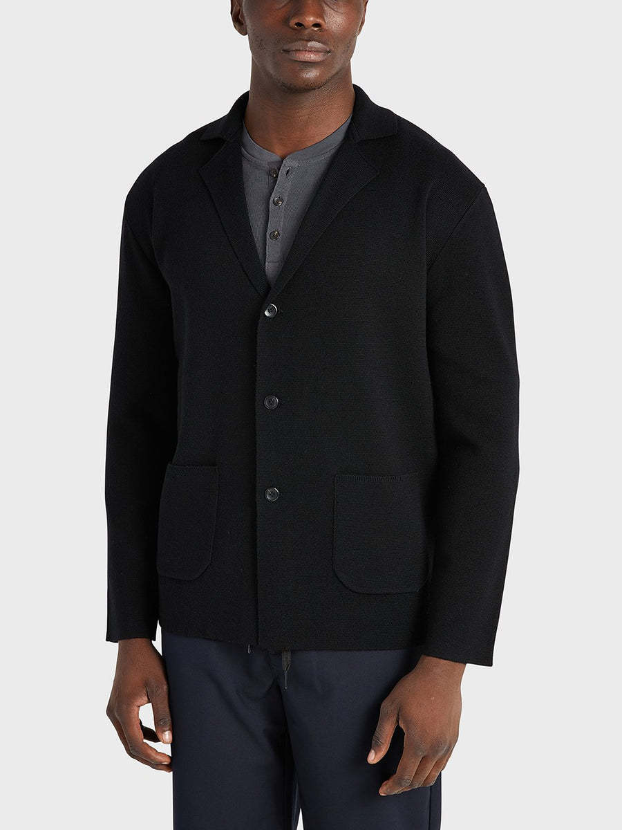 AW20 LS Cardigan Cole Black