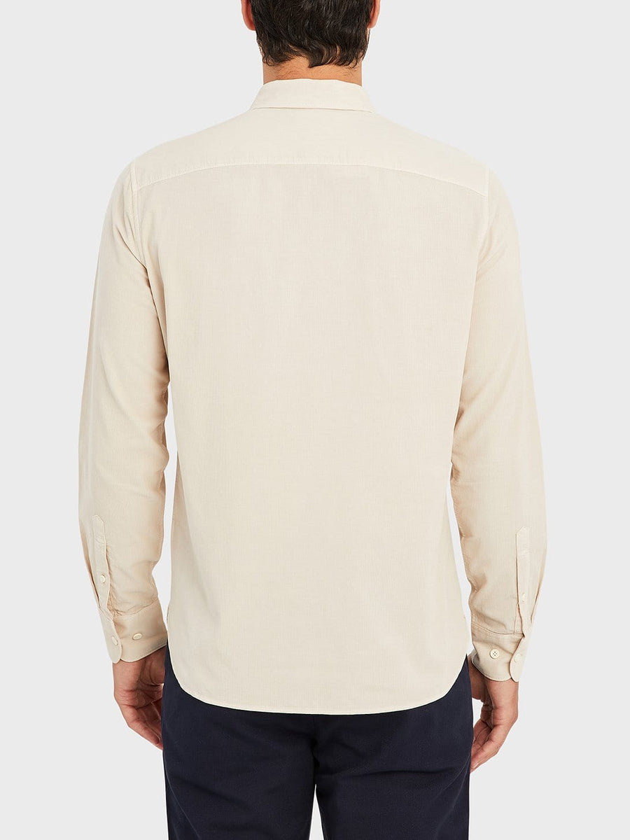 AW20 LS Shirt Fulton Cord Cement