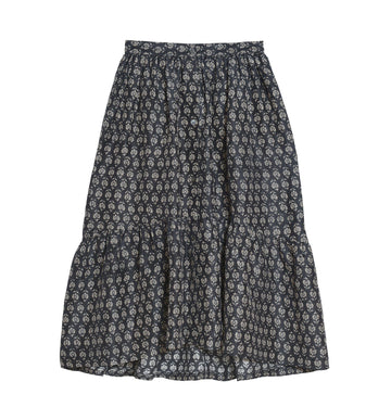 Heart Skirt Black/Beige