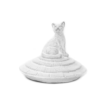 Grand Chalet Large Cat Candle Lip For Ceramic Candle