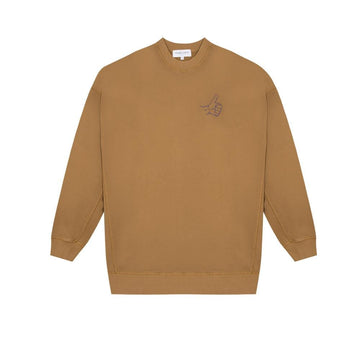 Dad Sweatshirt Thumbs Up Brown Sugar (men)