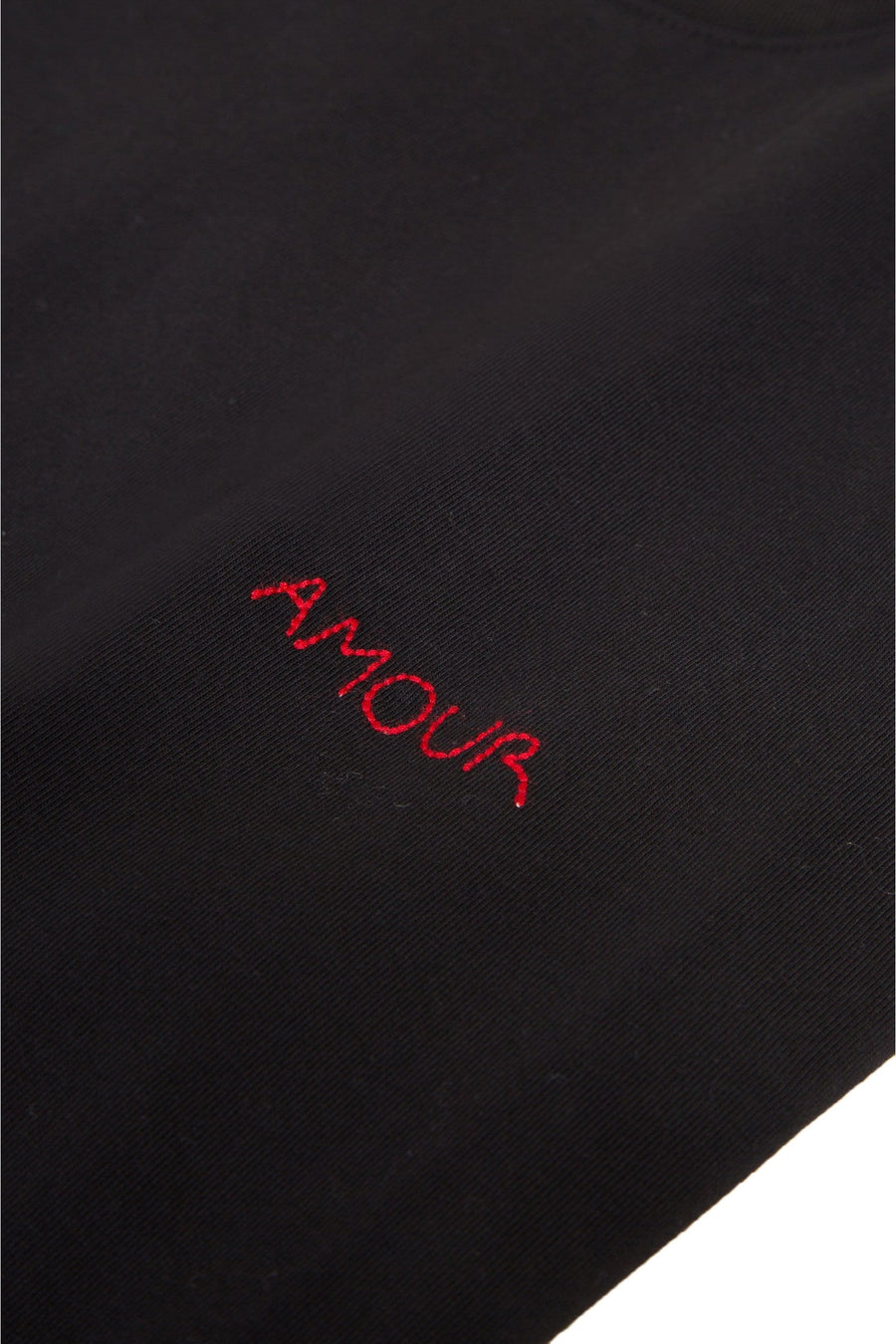 Heavy Tee-Shirt Amour Black (men)