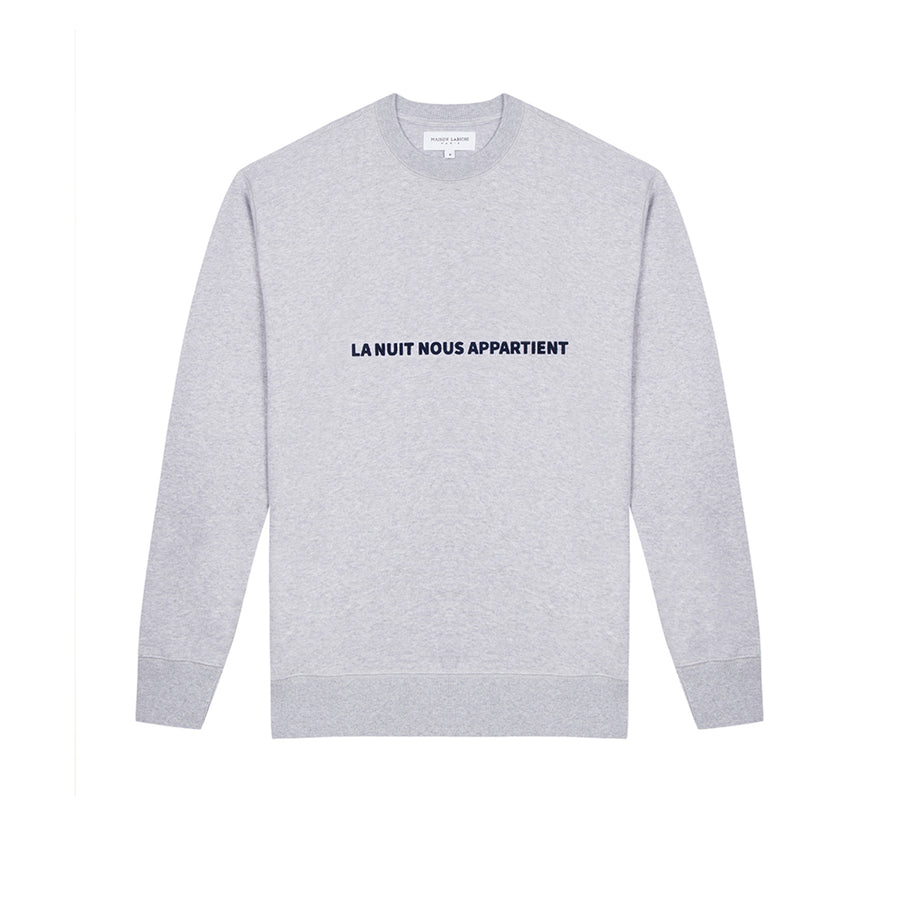 Sweatshirt La Nuit Nous Appart L.Heather GR (men)