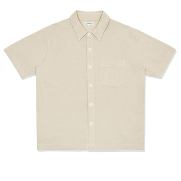 Pique Pocket Polo Bone