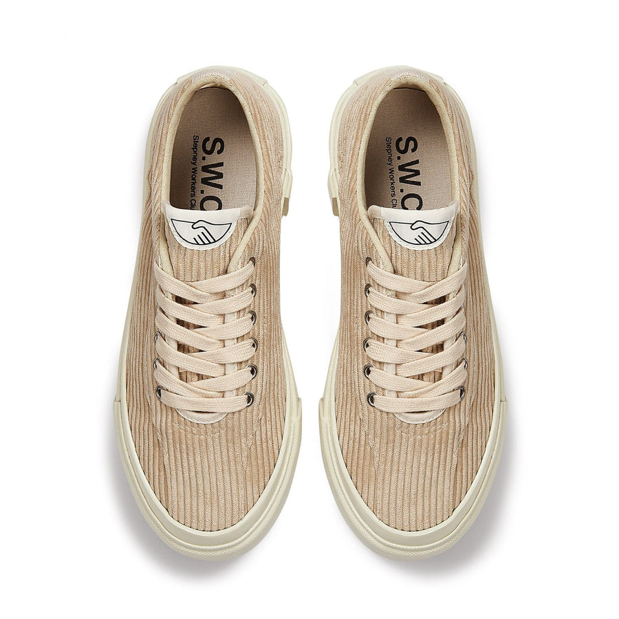 Dellow L Cord Tan (women)