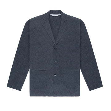 AW20 LS Cardigan Cole Charcoal