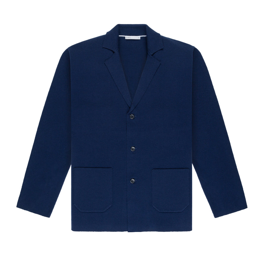 AW20 LS Cardigan Cole Navy