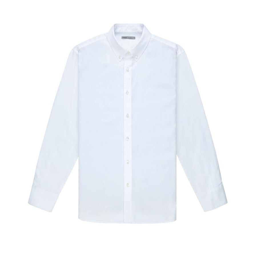 AW20 LS Shirt Fulton Pinpoint Oxford White