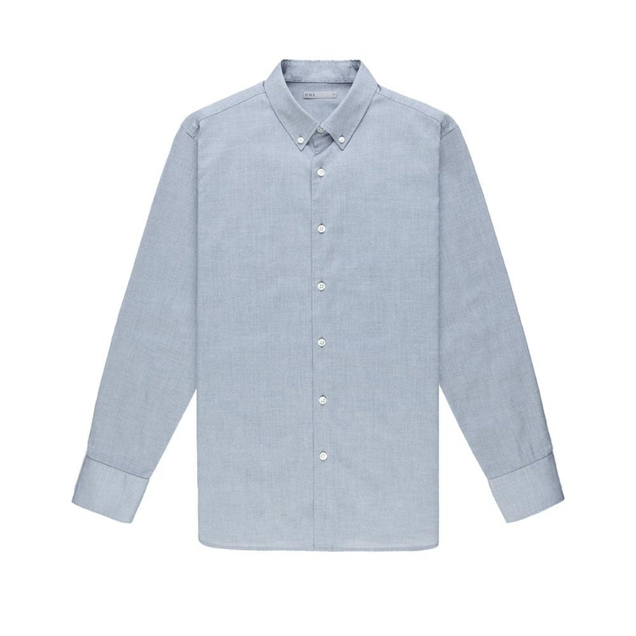 AW20 LS Shirt Fulton Pinpoint Oxford Grey