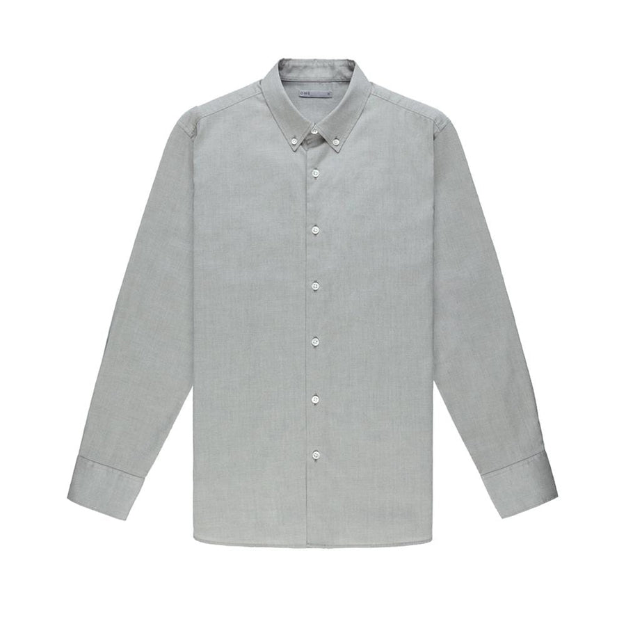 AW20 LS Shirt Fulton Pinpoint Oxford Olive Green