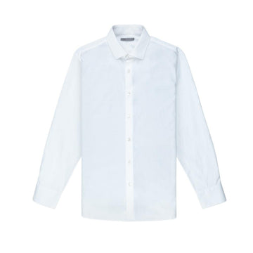 O.N.S AW20 LS Shirt Pinpoint Oxford Spread Collar White