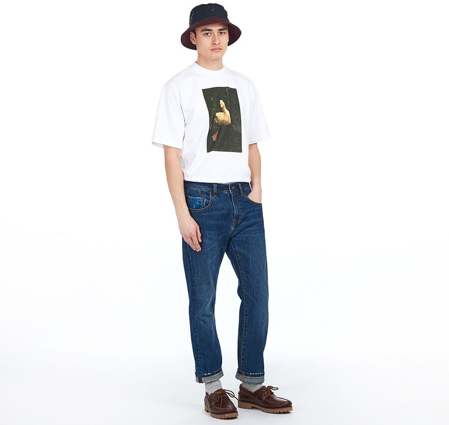 Barbour x Noah Duck T-shirt White