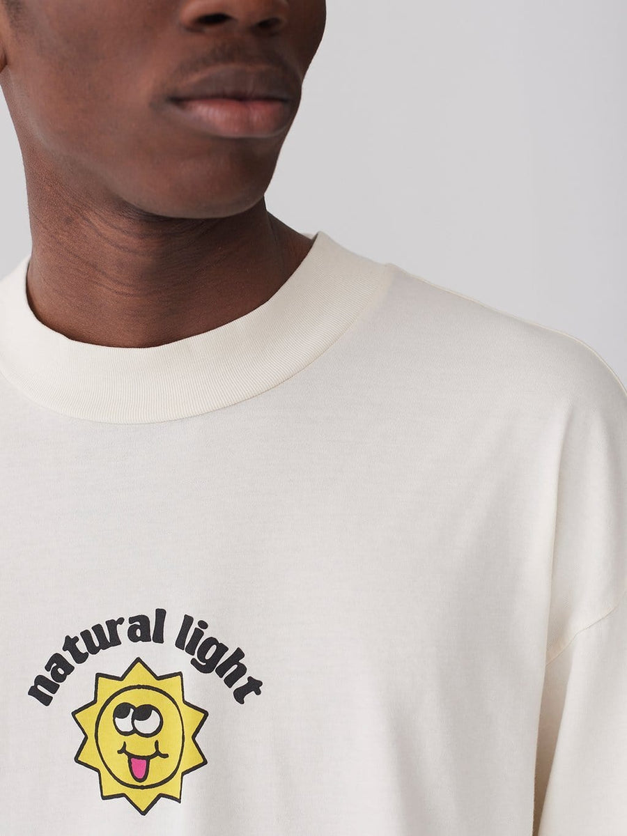 Natural Light Long Sleeve T-Shirt Off-White