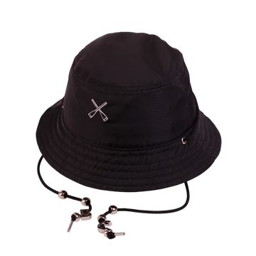 Bucket Hat Nylon Black