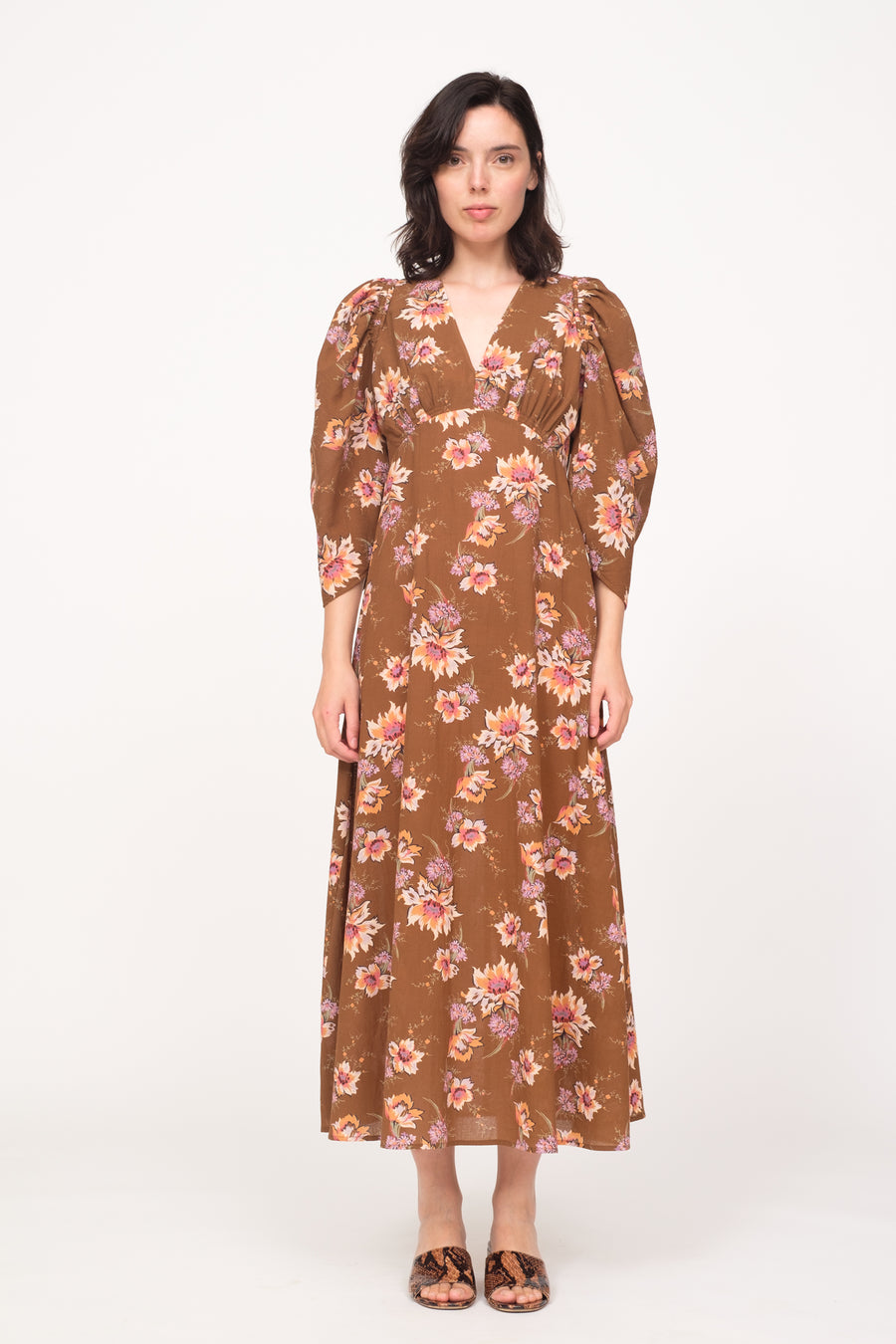 Sylvie LS Maxi Dress Toffee