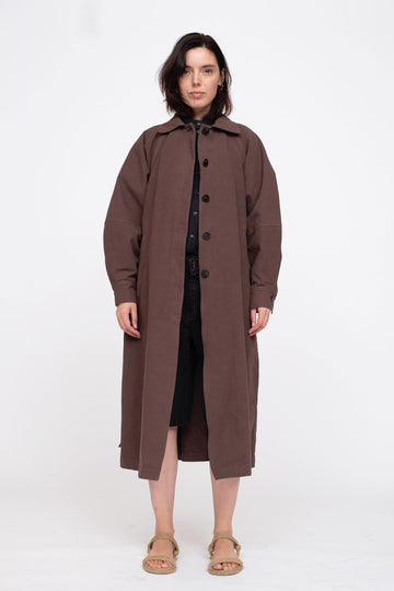 Alma Coat Chocolate