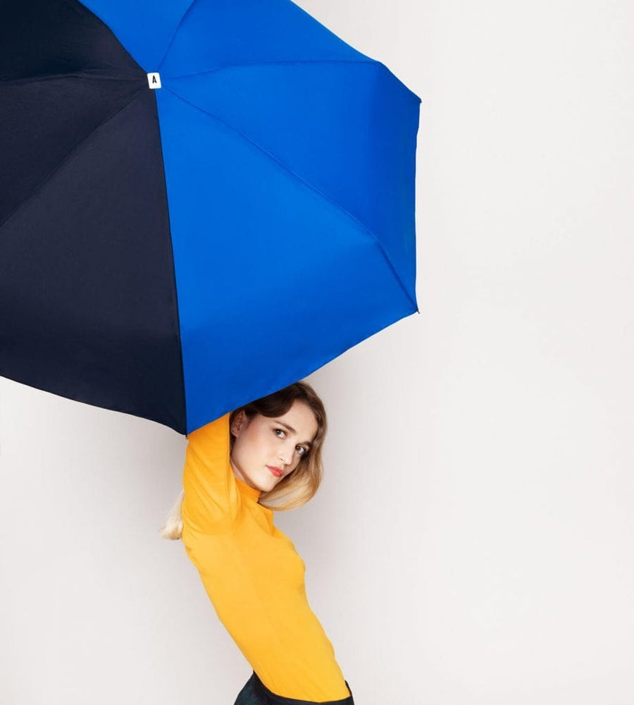 Folding Umbrella - Victoire (Royal Blue/Navy)