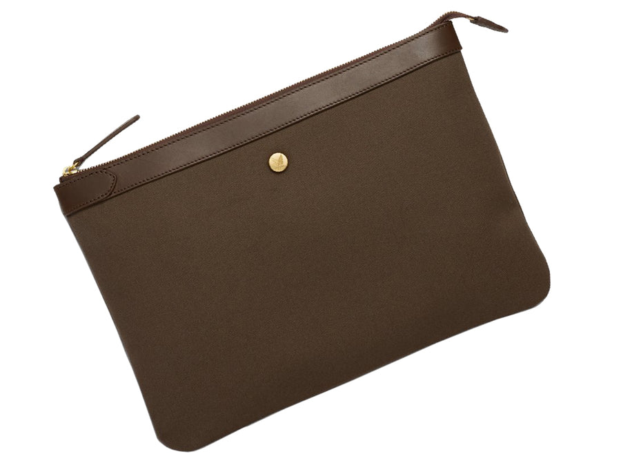 MS Pouch Large Army/Dark Brown