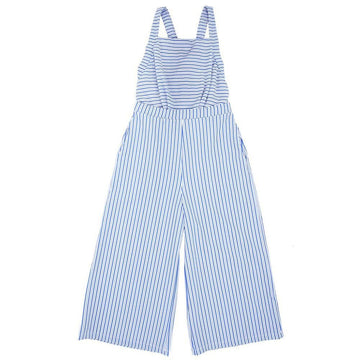 Ranunculus Beachwear Jumpsuit Blue Candy