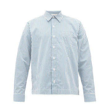 Bob Shirt Candy Stripe White/Blue