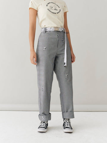 PEANUTS SNOOPY REPEAT WORK PANTS