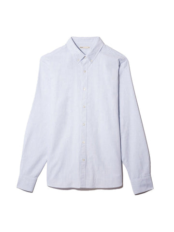 LS Shirt Fulton Oxford Light Blue Heather