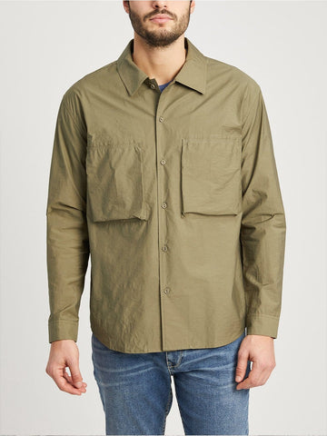 LS Shirt Jacket Corsa Olive Green