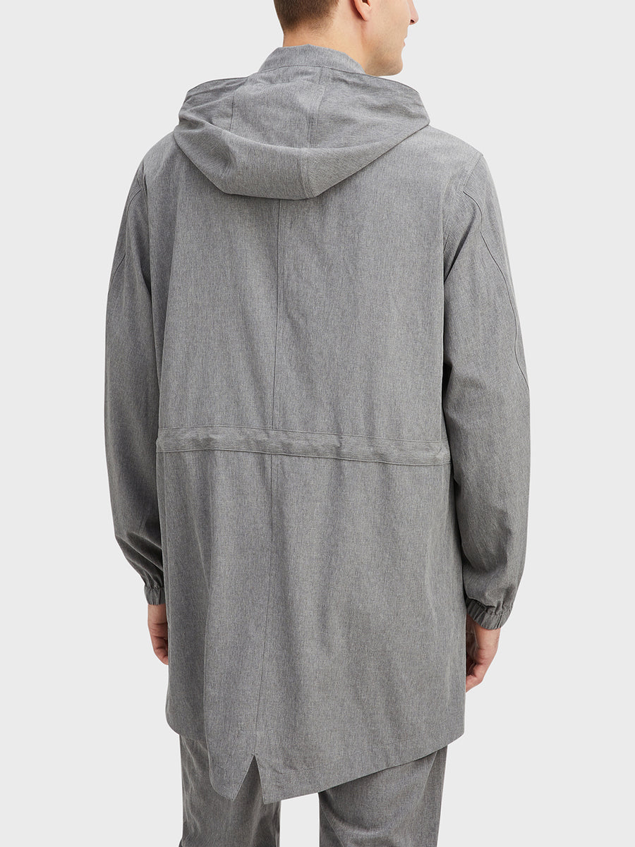 Mariner Parka Gray Heather