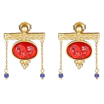 Titian Lavinia Earrings - 18K Gold Plated