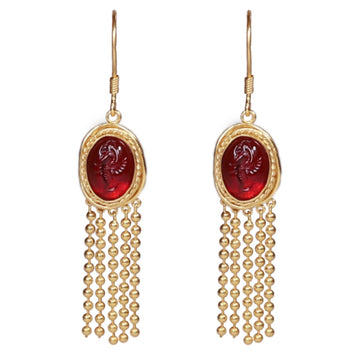 Tanaquil Earrings - 18K Gold Plated