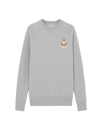 Sweatshirt Lotus Fox Grey Melange (Unisex)