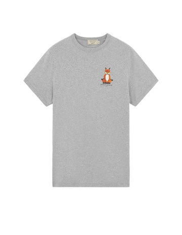 Tee Shirt Lotus Fox Grey Melange (Unisex)