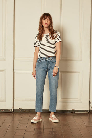 Tommy High Rise Straight Jean Far Country
