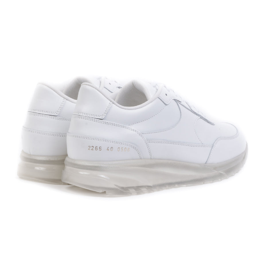 Track Transparent Sole White (men)