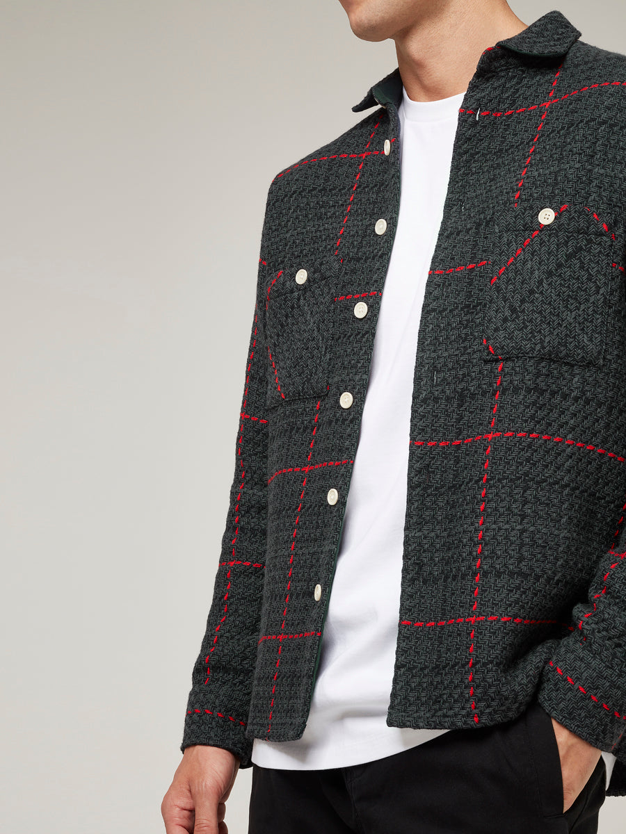 Whiting Shirt Gaint Tartan Black