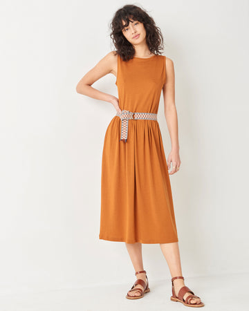Josepha Tank Top Dress Tobacco