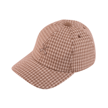 Curve Visor Winter Houndstooth