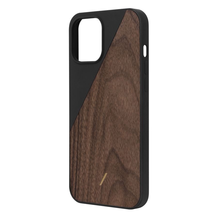 Clic Wooden Iphone Case Black Iphone 12 Pro Max