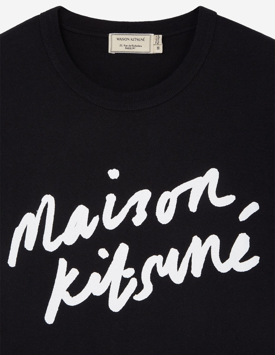 Tee-Shirt Handwriting Classic Black (men)