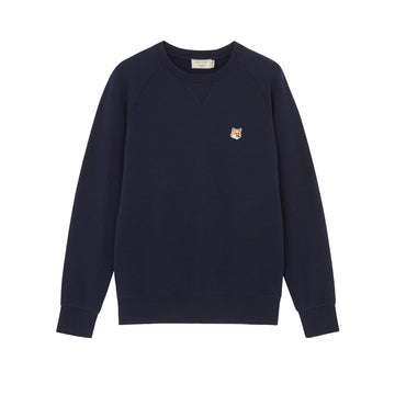 Sweatshirt Fox Head Patch Navy (Men)