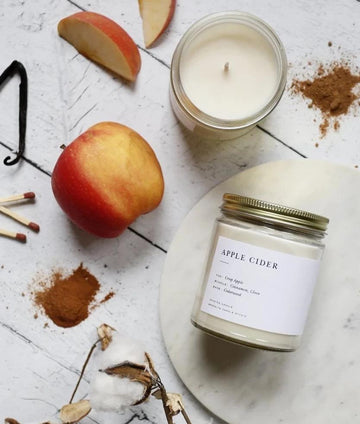 Minimalist Jar Apple Cider