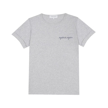 Classic Tee Again & Again Heather Grey (men)