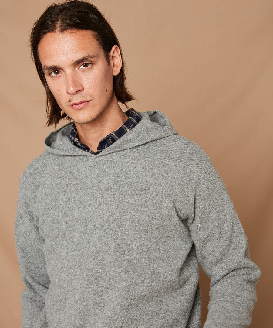 Boil Hoody Pull-Over Grey