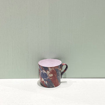 Red Blue Yellow Marble Cup