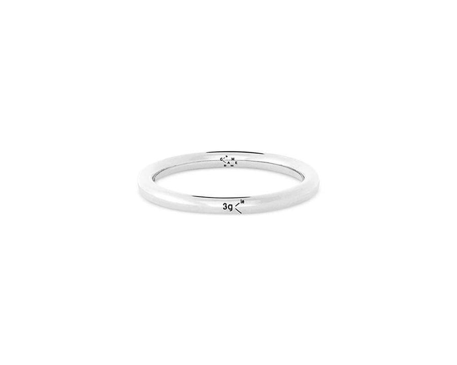 Ring 3g - slick polished - Silver 925