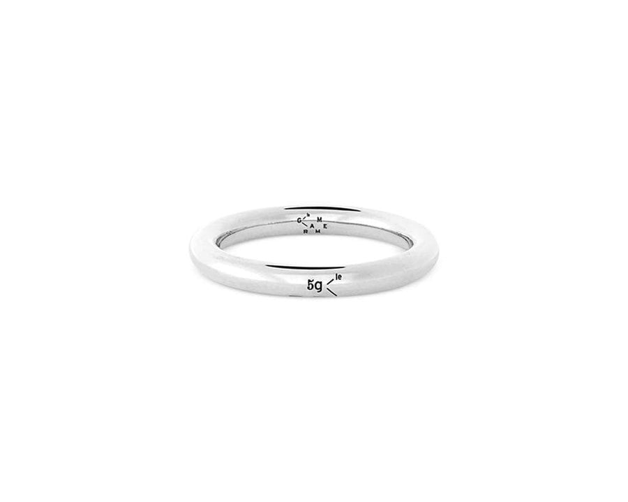 Ring 5g - slick polished - Silver 925