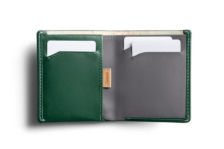 Note Sleeve Wallet - RacingGreen-RFID