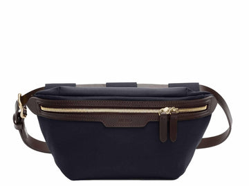 MS Belt Bag Navy/Dark Brown