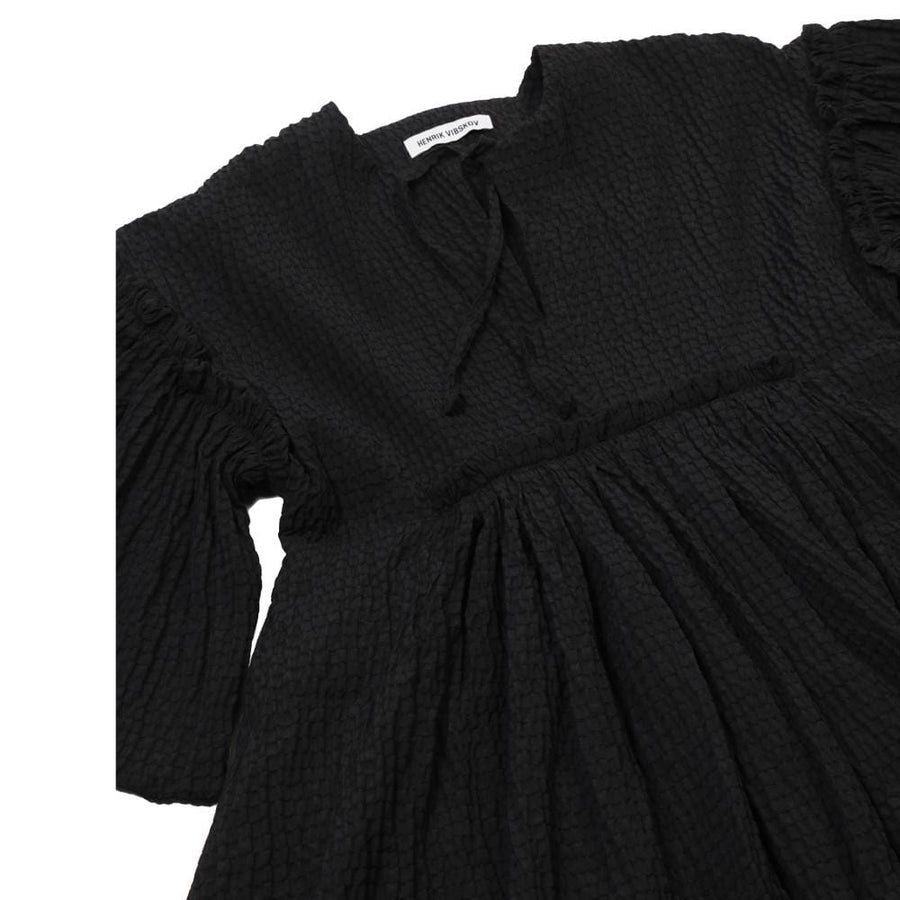 Darling Dress Black Frills